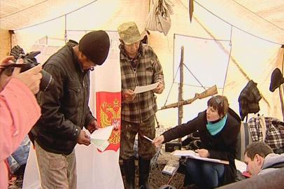 Работники избиркома преодолели сотни километров ради голосов избирателей
