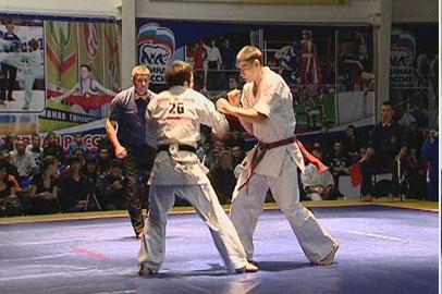 Амурчанин вошел в сборную России по шин-кекушин карате