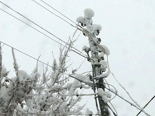 Приамурье терзает снежный циклон