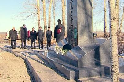 В Белогорском районе установили памятник японским военнопленным