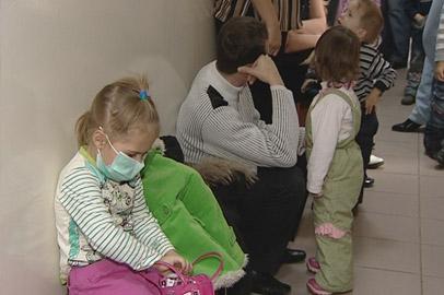 За неделю 1,5 тысячи амурских детей подхватили вирусную инфекцию
