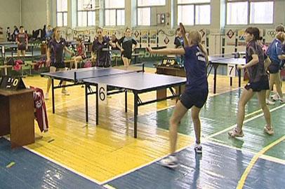 Благовещенские игроки в пинг-понг поучаствовали в чемпионате
