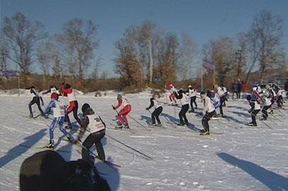 В Благовещенске официально стартовал лыжный сезон