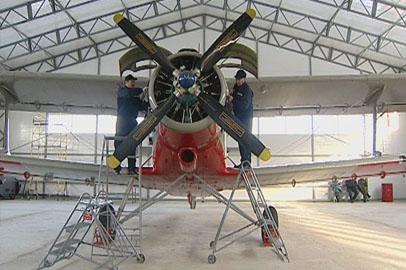 Ангар в Свободном вместит сразу 2 единицы лётной техники
