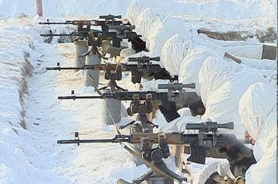 У амурских снайперов началась боевая подготовка