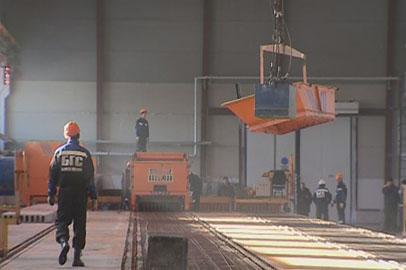 В Благовещенске открылось новое производство железобетонных изделий
