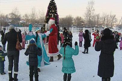 Благовещенцы поучаствовали в народных праздничных гуляниях