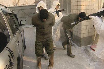 Солдаты военной части Белогорска ловили «террористов»