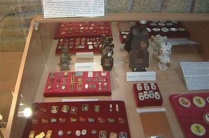 В краеведческом музее представили олимпийскую экспозицию