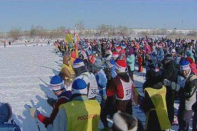 В массовом лыжном забеге поучаствовали почти 5 тысяч амурчан
