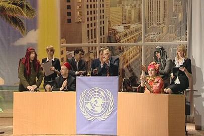 В юбилейной постановке студенческого театра АмГУ участвовали VIP-персоны