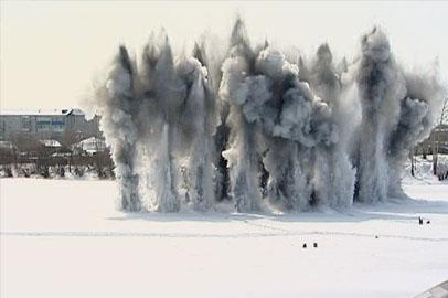 В Белогорске сегодня гремели взрывы
