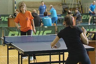 Трудовые коллективы Благовещенска сыграли в настольный теннис