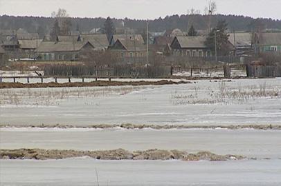 Грунтовые воды подтопили дома целой улицы Шимановска