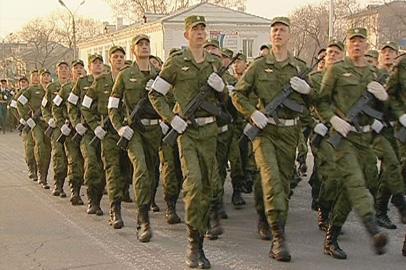 В Белогорске в последний раз отрепетировали парад Победы