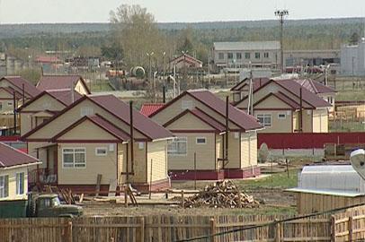 Жители сгоревшей год назад Тыгды благополучно пережили зиму в новых домах