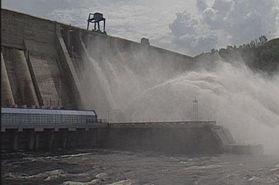Бурейская ГЭС снижает водосбросы