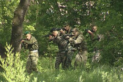 Амурские десятиклассники окунулись в армейскую атмосферу
