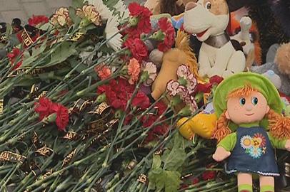 Белогорцы почтили память погибших в субботней аварии