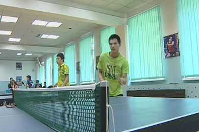 Теннисисты из Китая дали мастер-класс юным амурским спортсменам