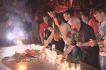 Сотни благовещенцев приняли участие в акции «Свеча памяти»