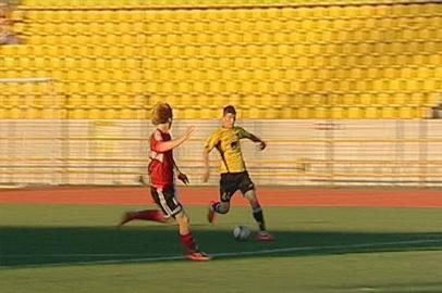 ФК «Амур» разгромил «Благовещенск» в товарищеском матче