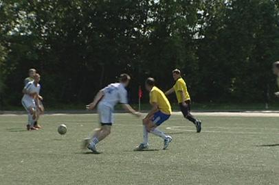 «Благовещенск» лидирует в городском первенстве по футболу