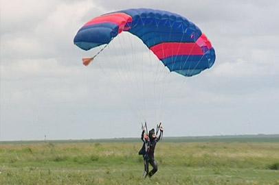 «Амурский аэроклуб ДОСААФ» отметил юбилей воздушными номерами и парашютными прыжками