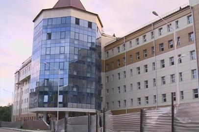 Завершается строительство хирургического корпуса АОДКБ