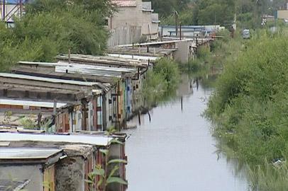 Гаражи в районе Зеи и Бурхановки в Благовещенске затопило на полтора метра