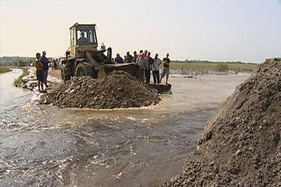 В Тамбовском районе ливнями размыло более 10 участков дорог
