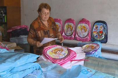 Амурские первоклассники начали получать «губернаторские портфели»