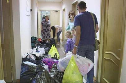 Амурчане собирают гуманитарную помощь пострадавшим от наводнения