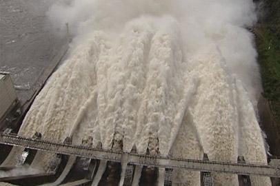 Сбросы воды с Зейской ГЭС увеличили до 5 тысяч кубометров в секунду
