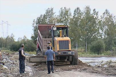 Начался ремонт дороги к селу Грибское Благовещенского района