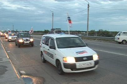 Приморские ветераны полиции побывали в Благовещенске в рамках автопробега
