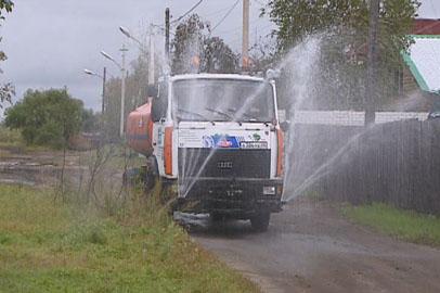 В Белогорске приступили к массовой дезинфекции подворий и улиц