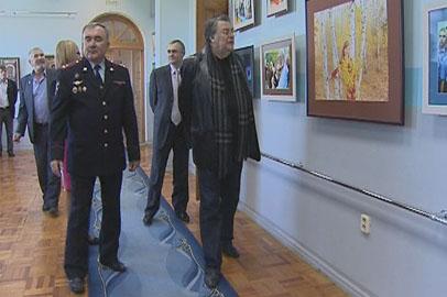Участники «Амурской осени» посетили выставку в музее областного УВД