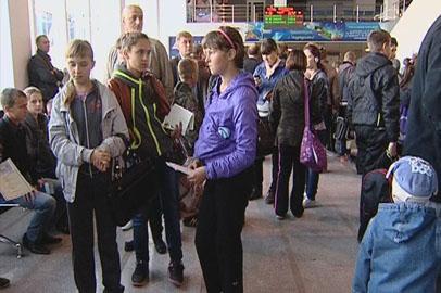 Амурских школьников из зон паводка приютили в профилактории Смоленска