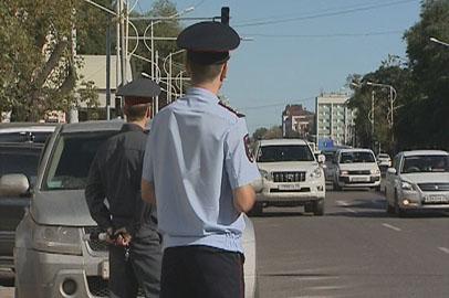 Автоинспекторы скрыто патрулируют благовещенские дороги