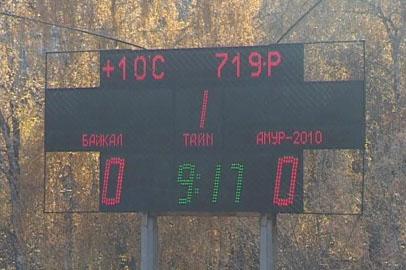 Футболисты «Амура-2010» смогли заработать в Иркутске лишь одно очко
