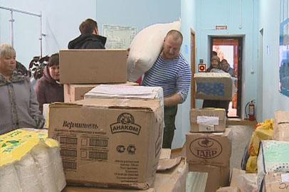 Ветераны из «Боевого братства» собрали гуманитарную помощь для амурчан
