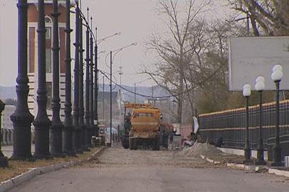 Новый участок набережной Амура в Благовещенске откроют через неделю