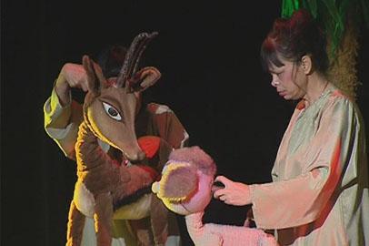 Спектаклем «Сэмбо» открыл юбилейный 50-й сезон Амурский театр кукол