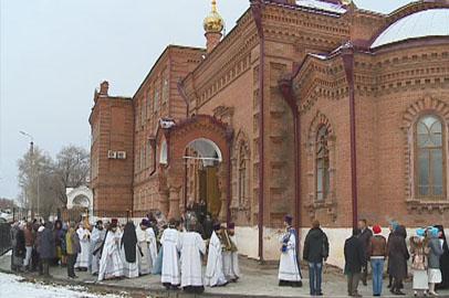 В Благовещенске освятили возрождённую дореволюционную церковь