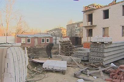 В Свободном достраивают дом для переселенцев из аварийного жилья