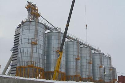 Современный зерносушильный комплекс заработал в Приамурье
