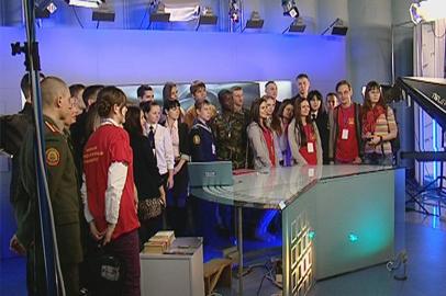 Участники марафона «Студент 28.ру» узнали как делают новости
