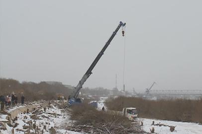 В Благовещенске началось строительство набережной реки Зея