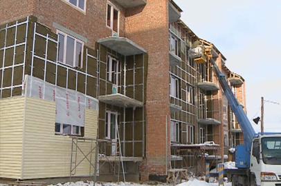 Энергоэффективный дом для переселенцев из бараков возводят в Шимановске